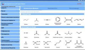 Приложение по химии для андроид
